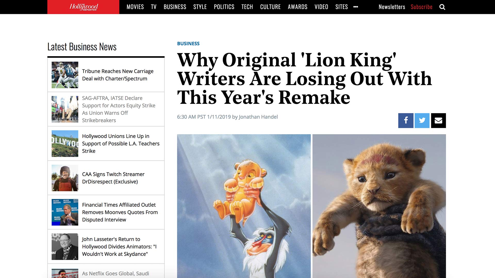 Fairness Rocks News Why Original 'Lion King' Writers Are Losing Out With This Year's Remake