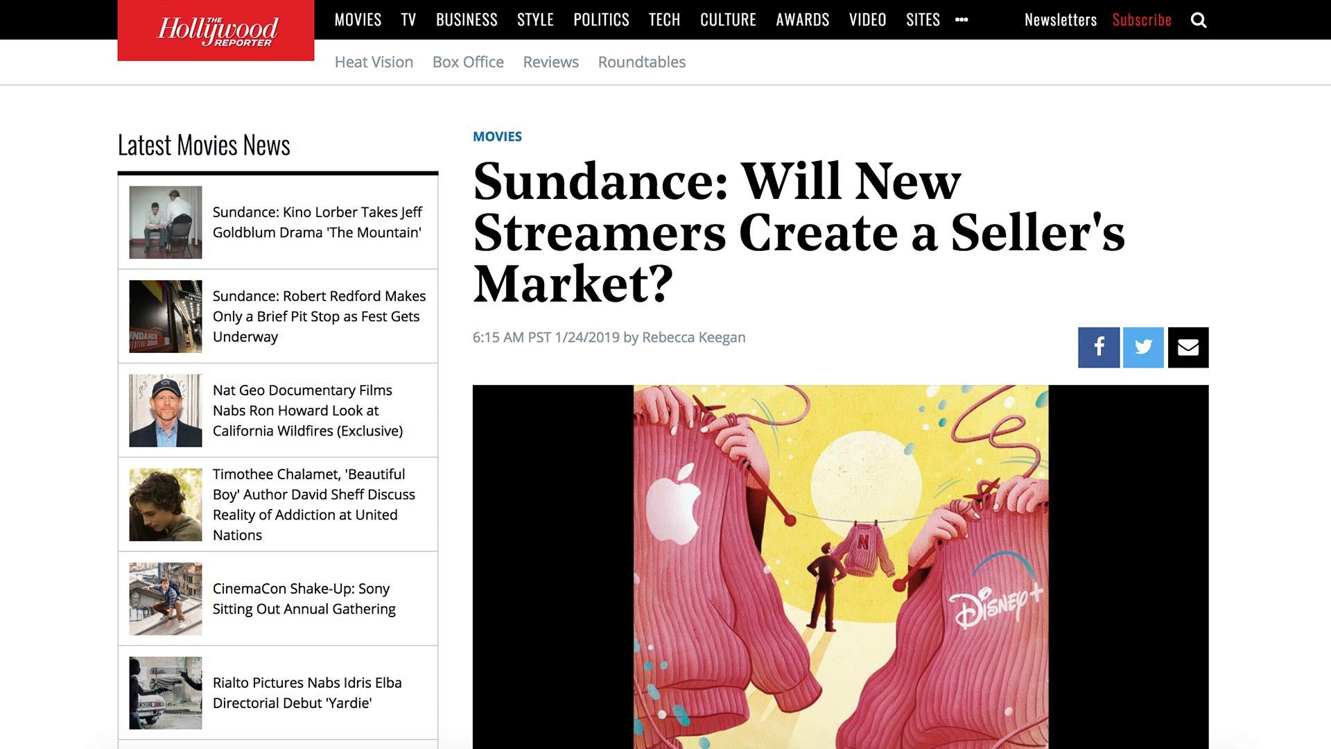 Fairness Rocks News Sundance: Will New Streamers Create a Seller's Market?