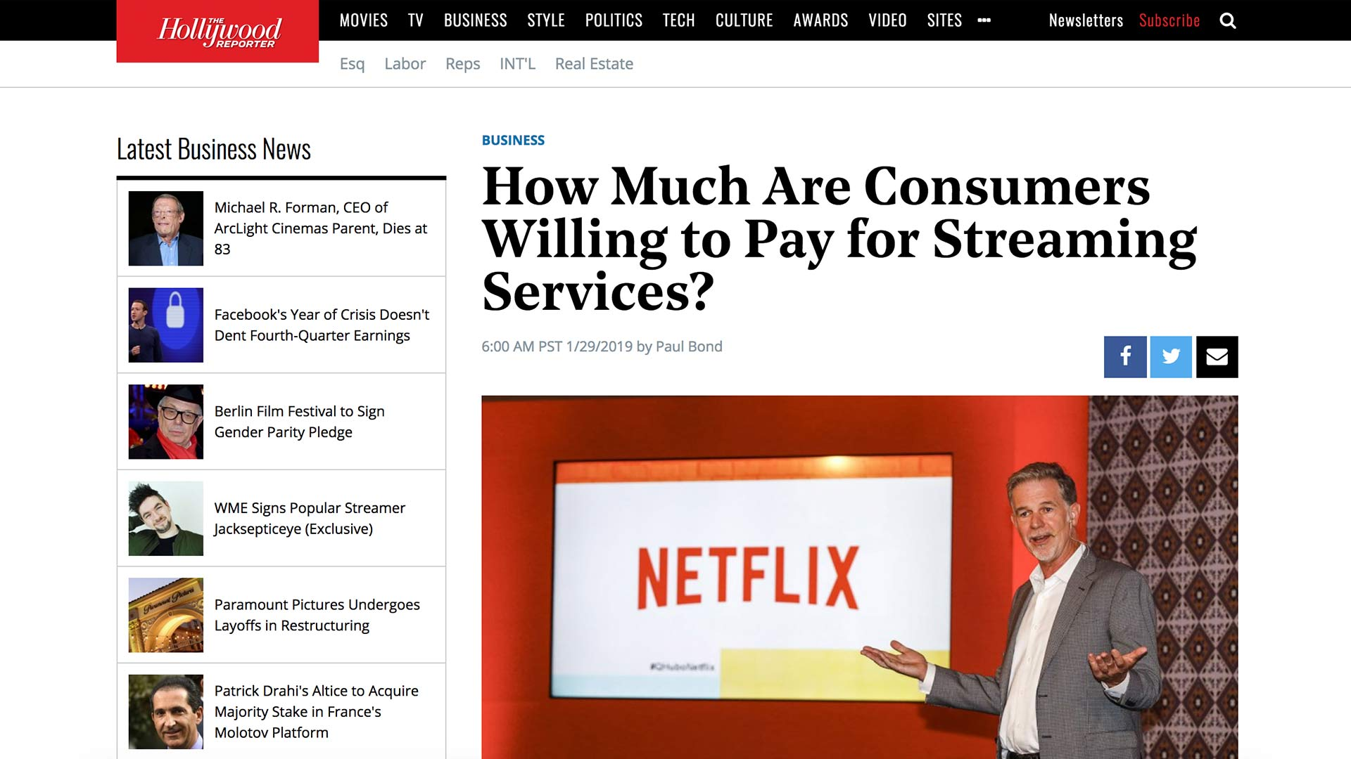 Fairness Rocks News How Much Are Consumers Willing to Pay for Streaming Services?