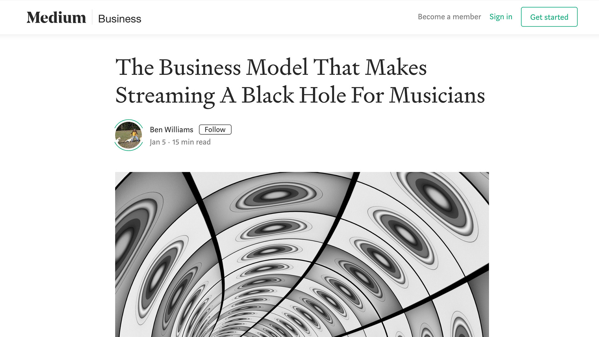 Fairness Rocks News The Business Model That Makes Streaming A Black Hole For Musicians