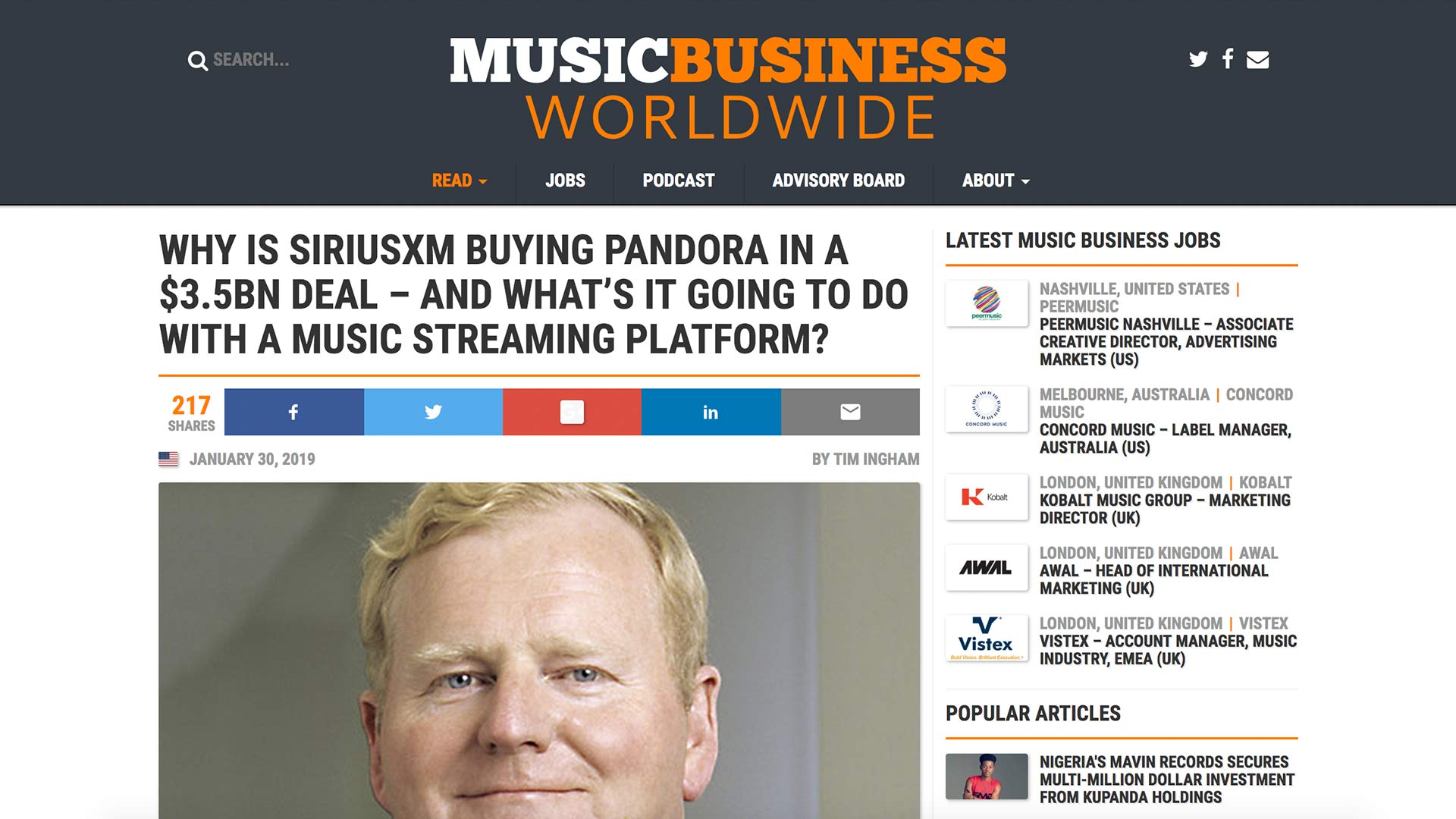 Fairness Rocks News WHY IS SIRIUSXM BUYING PANDORA IN A $3.5BN DEAL – AND WHAT'S IT GOING TO DO WITH A MUSIC STREAMING PLATFORM?