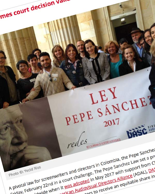 Fairness Rocks News CISAC welcomes court decision validating Pepe Sanchez Law in Colombia