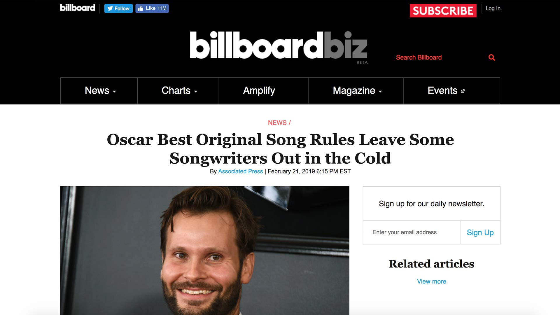 Fairness Rocks News Oscar Best Original Song Rules Leave Some Songwriters Out in the Cold