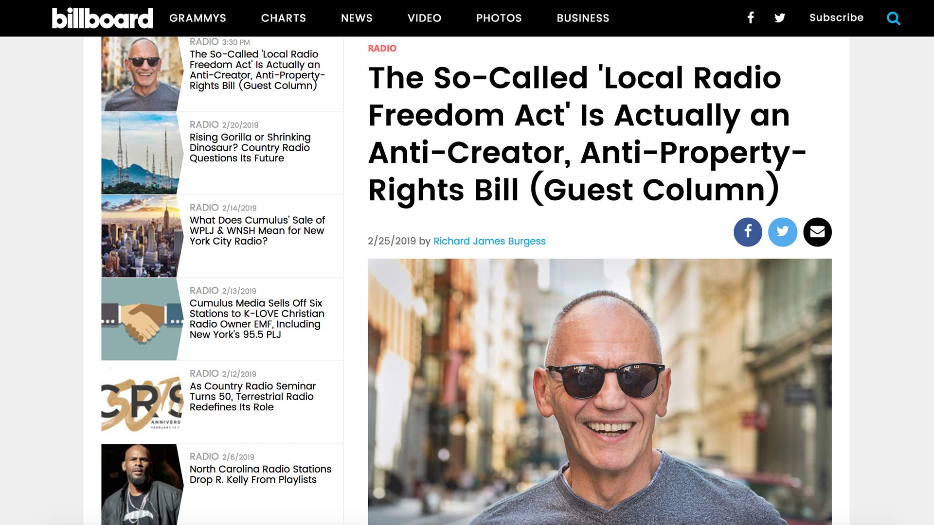 Fairness Rocks News The So-Called 'Local Radio Freedom Act' Is Actually an Anti-Creator, Anti-Property-Rights Bill (Guest Column)