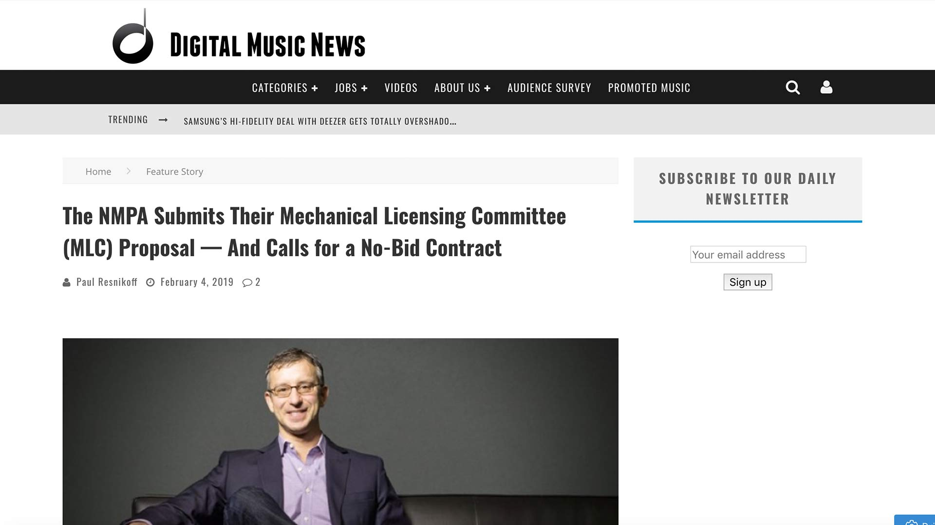 Fairness Rocks News The NMPA Submits Their Mechanical Licensing Committee (MLC) Proposal — And Calls for a No-Bid Contract
