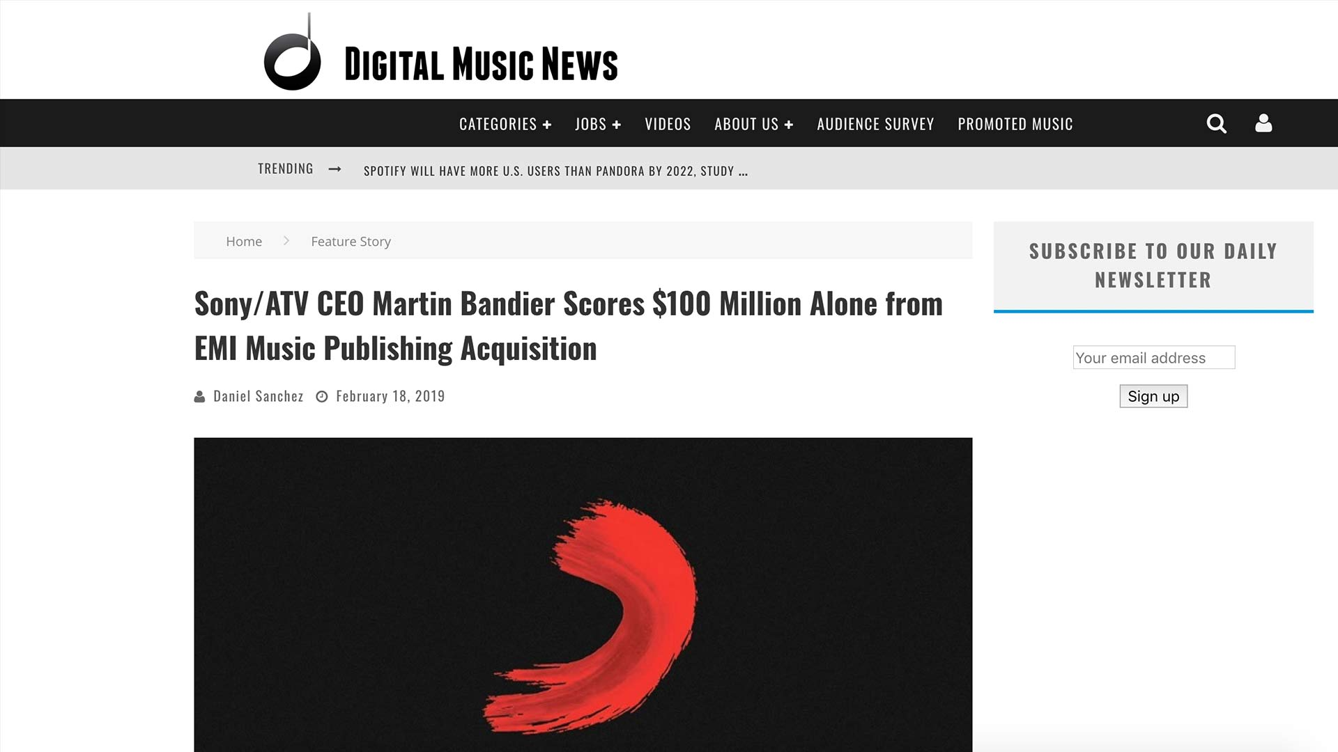 Fairness Rocks News Sony/ATV CEO Martin Bandier Scores $100 Million Alone from EMI Music Publishing Acquisition