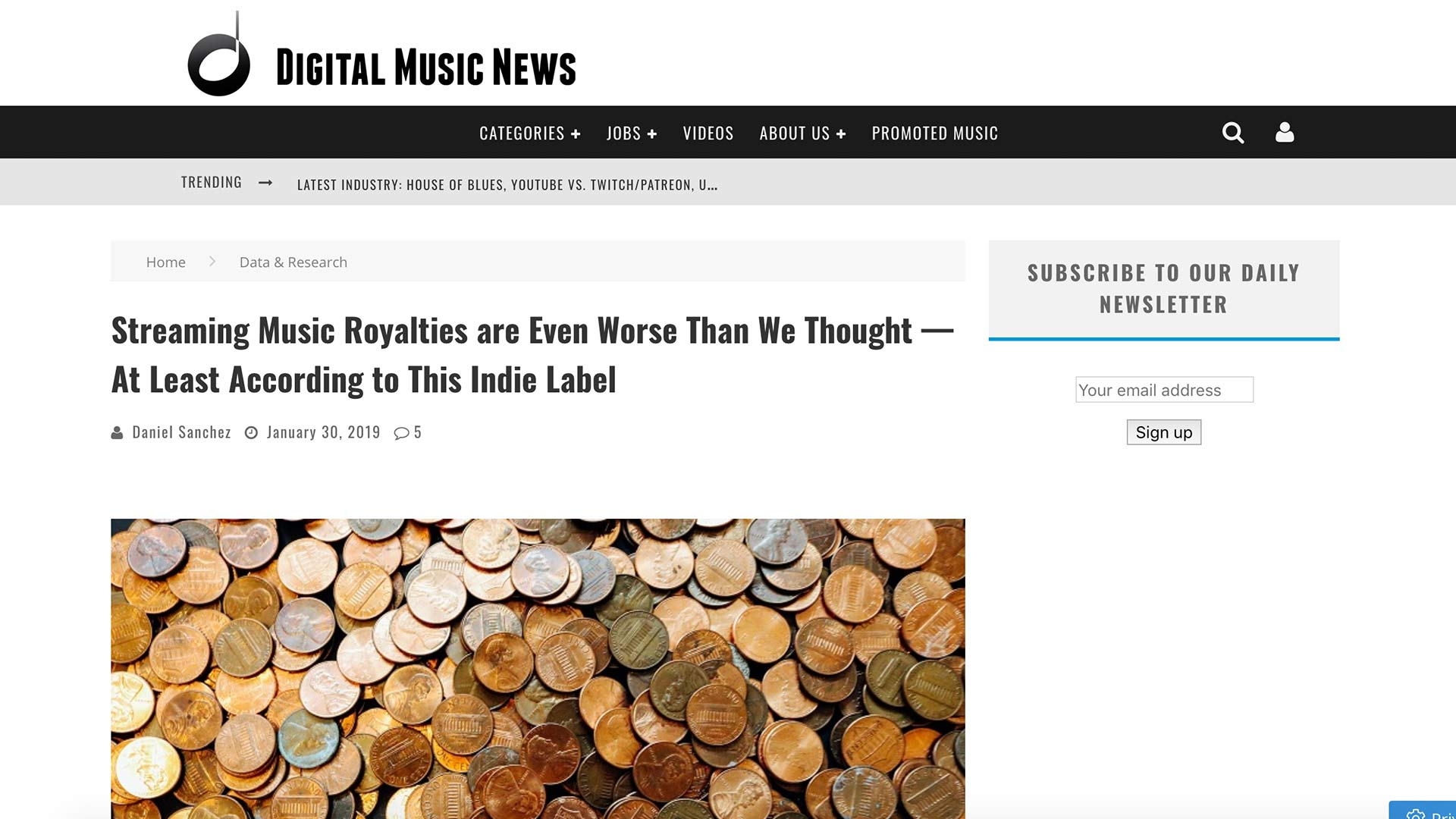 Fairness Rocks News Streaming Music Royalties are Even Worse Than We Thought — At Least According to This Indie Label