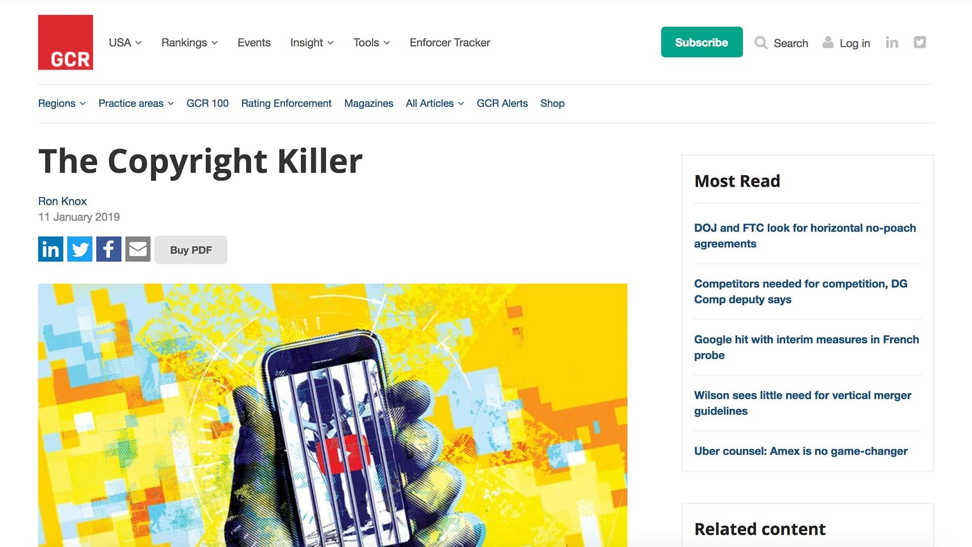Fairness Rocks News The Copyright Killer