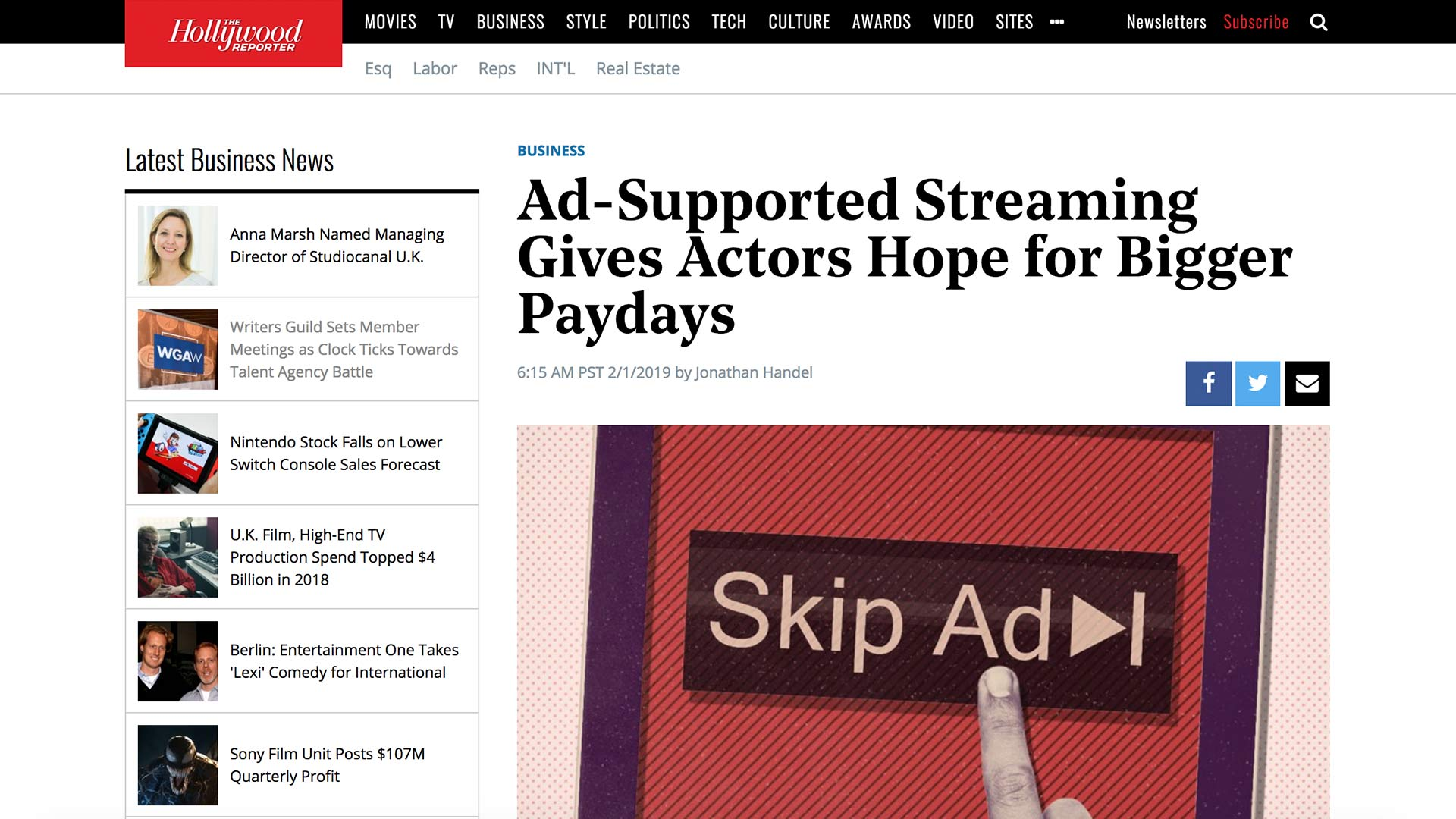 Fairness Rocks News Ad-Supported Streaming Gives Actors Hope for Bigger Paydays