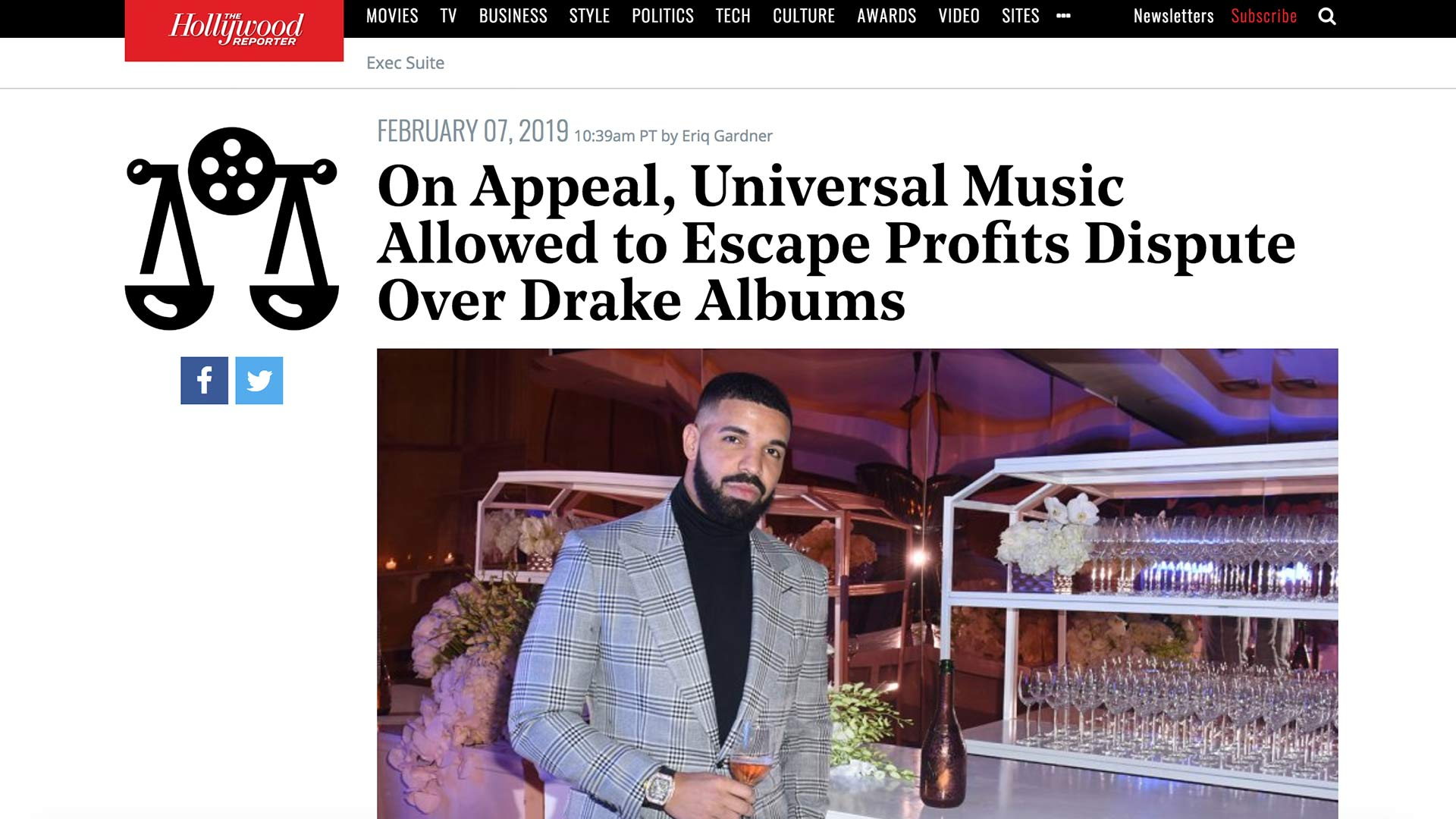 Fairness Rocks News On Appeal, Universal Music Allowed to Escape Profits Dispute Over Drake Albums
