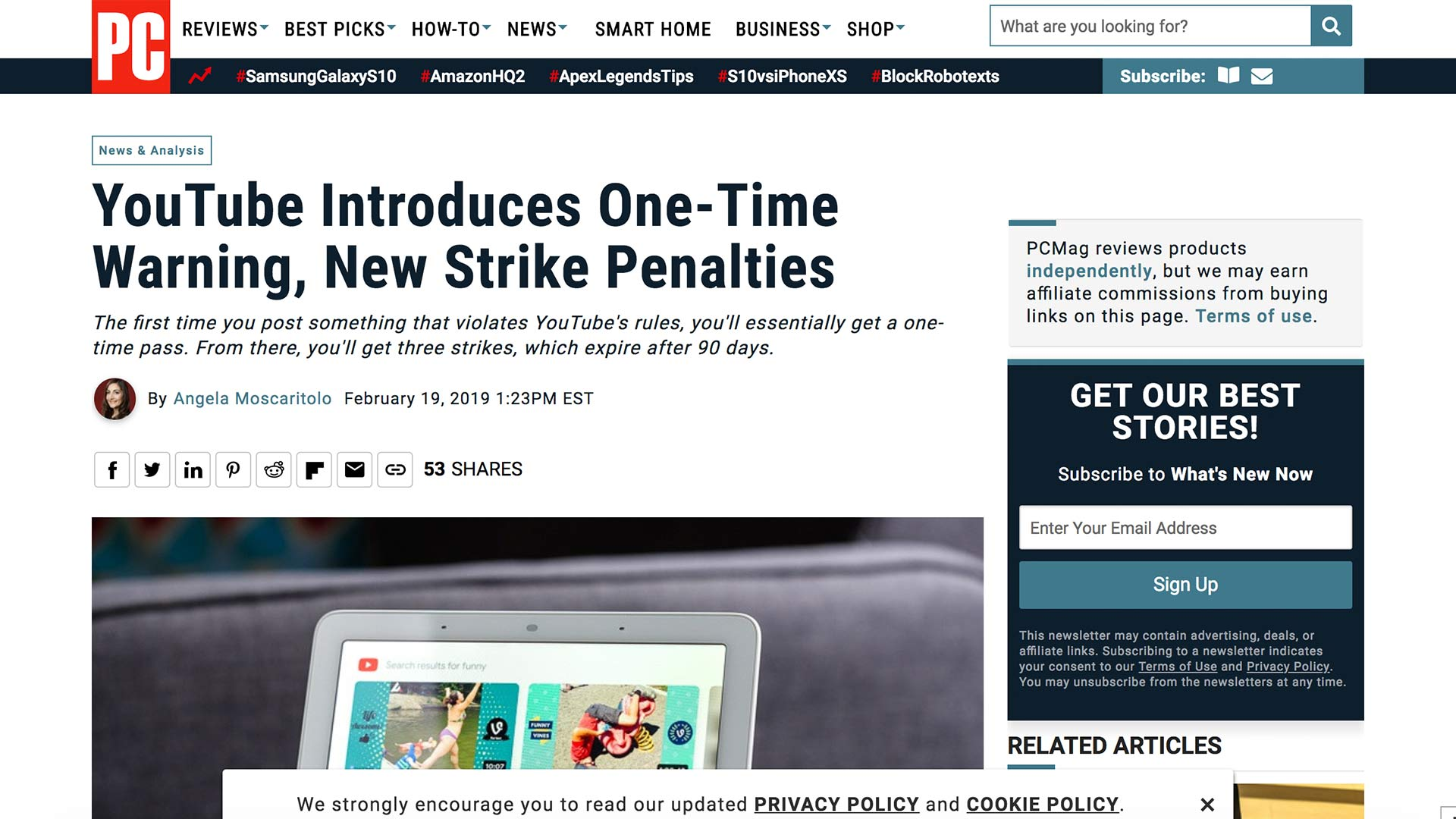 Fairness Rocks News YouTube Introduces One-Time Warning, New Strike Penalties