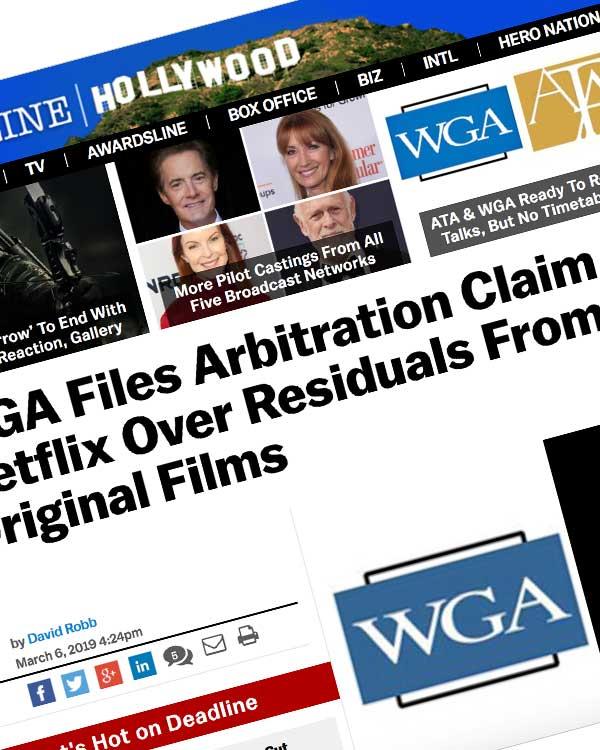 Fairness Rocks News WGA Files Arbitration Claim Against Netflix Over Residuals From 33 Original Films