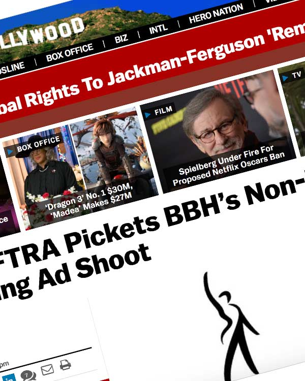 Fairness Rocks News SAG-AFTRA Pickets BBH's Non-Union Samsung Ad Shoot