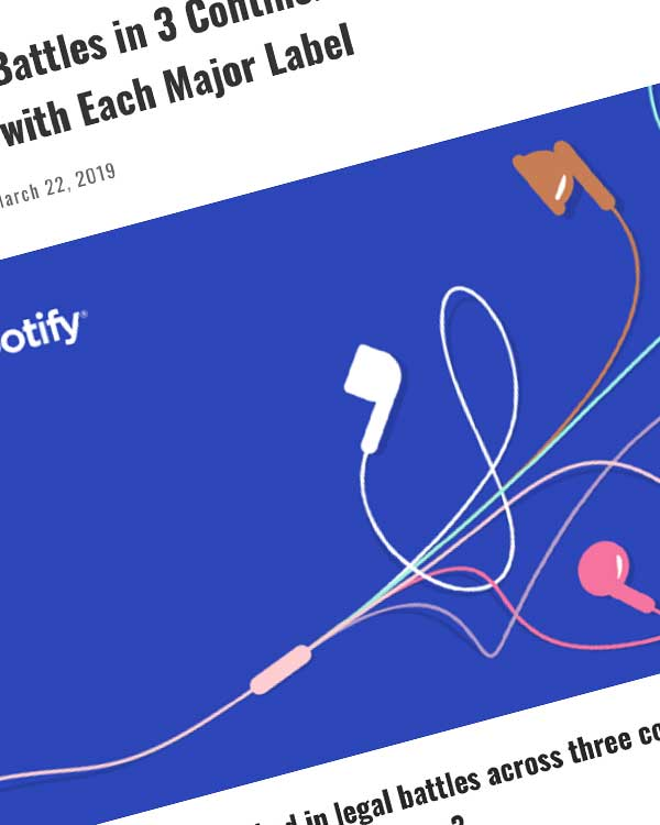 Fairness Rocks News Amidst Legal Battles in 3 Continents, Spotify Enters Into High-Stakes Talks with Each Major Label