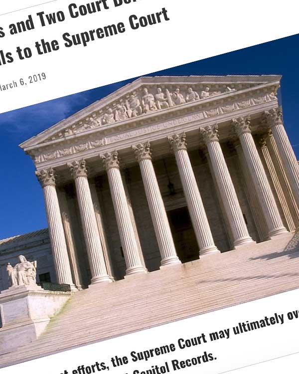 Fairness Rocks News After Six Years and Two Court Defeats, 'Used MP3' Service ReDigi Appeals to the Supreme Court