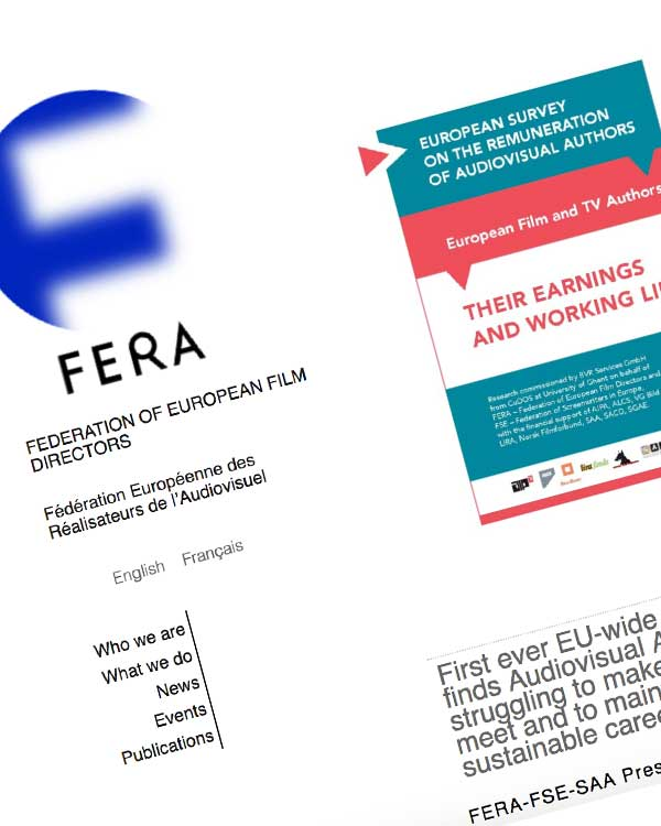 Fairness Rocks News First ever EU-wide study finds Audiovisual Authors struggling to make ends meet and to maintain sustainable careers
