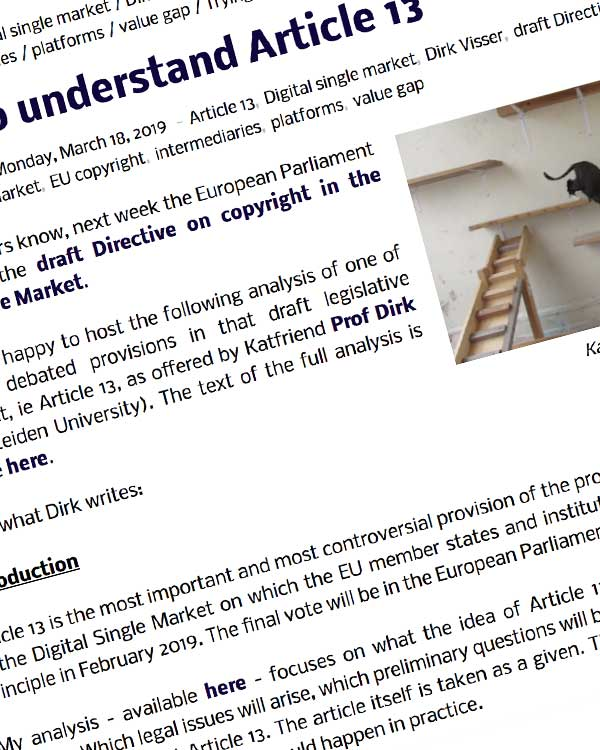 Fairness Rocks News Trying to understand Article 13