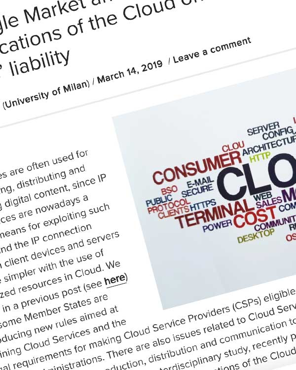 Fairness Rocks News Digital Single Market and Cloud Services: the legal implications of the Cloud on copyright laws and CSPs' liability