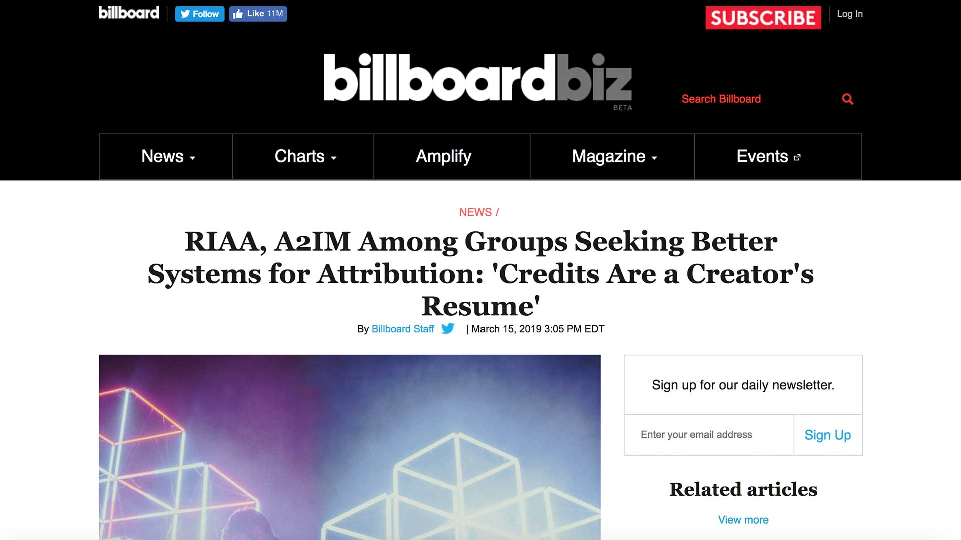 Fairness Rocks News RIAA, A2IM Among Groups Seeking Better Systems for Attribution: 'Credits Are a Creator's Resume'