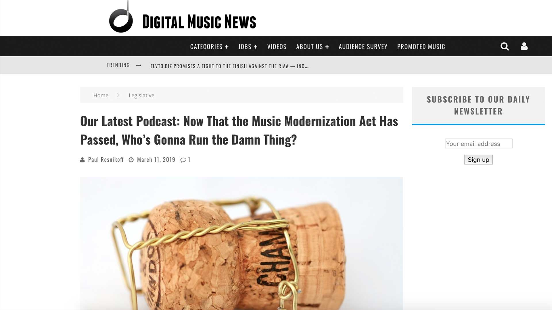 Fairness Rocks News Our Latest Podcast: Now That the Music Modernization Act Has Passed, Who's Gonna Run the Damn Thing?