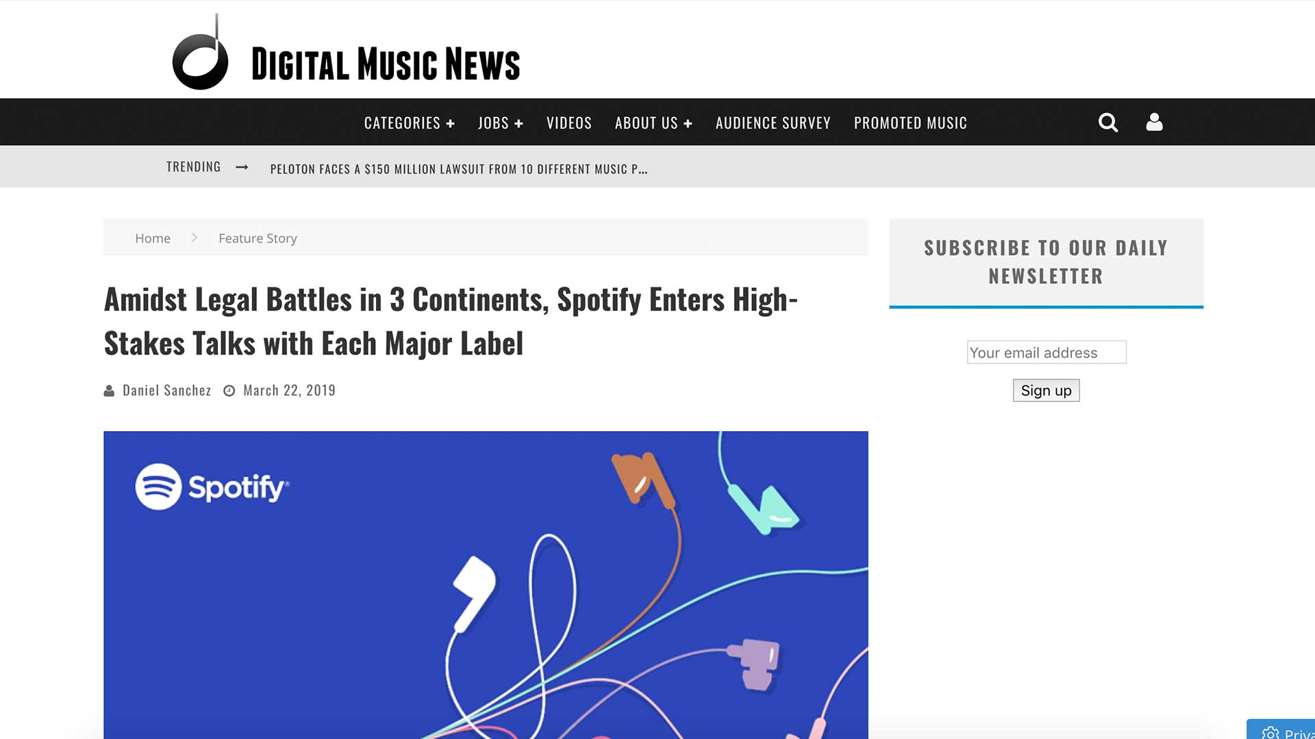 Fairness Rocks News Amidst Legal Battles in 3 Continents, Spotify Enters High-Stakes Talks with Each Major Label