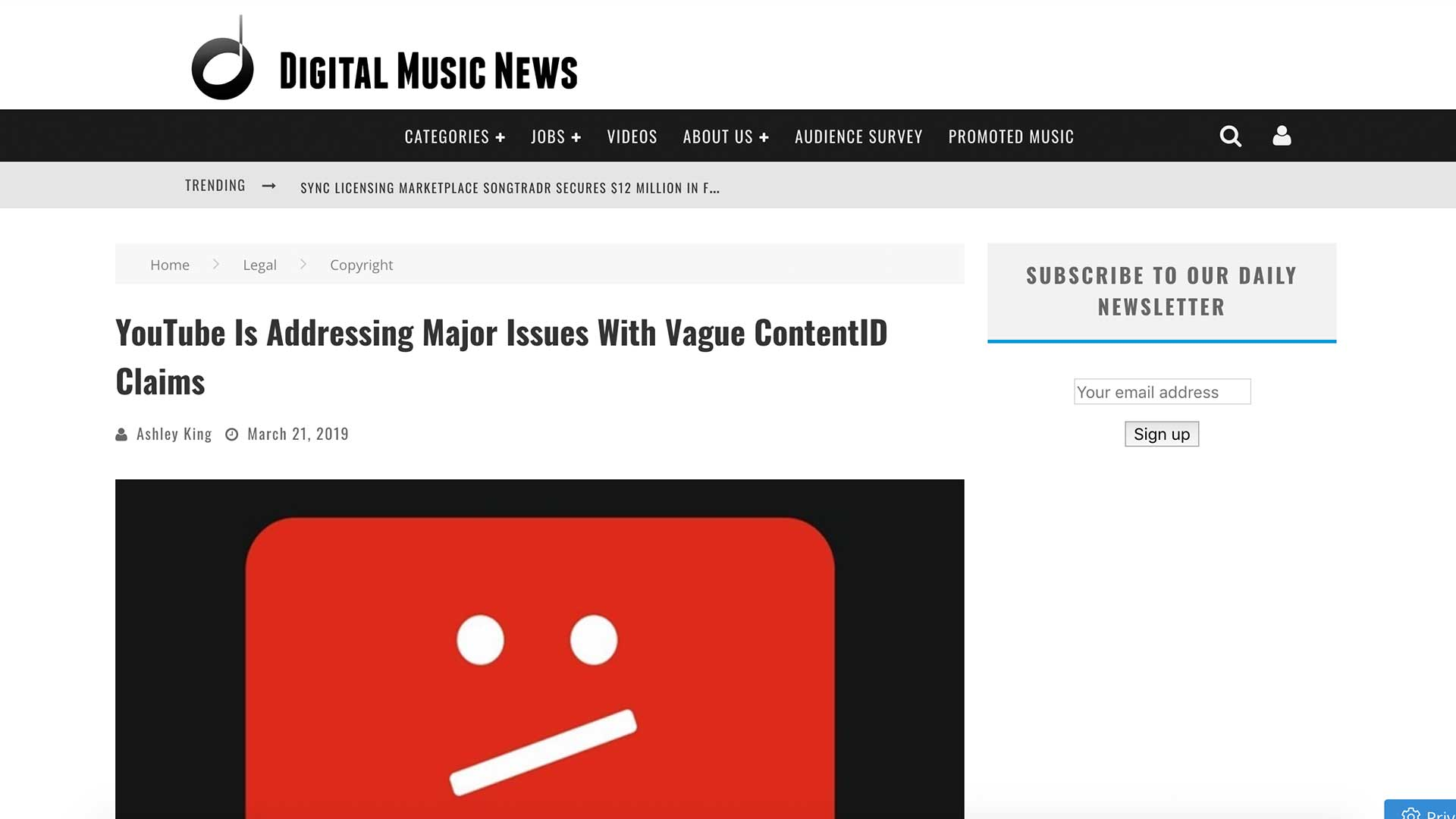 Fairness Rocks News YouTube Is Addressing Major Issues With Vague ContentID Claims