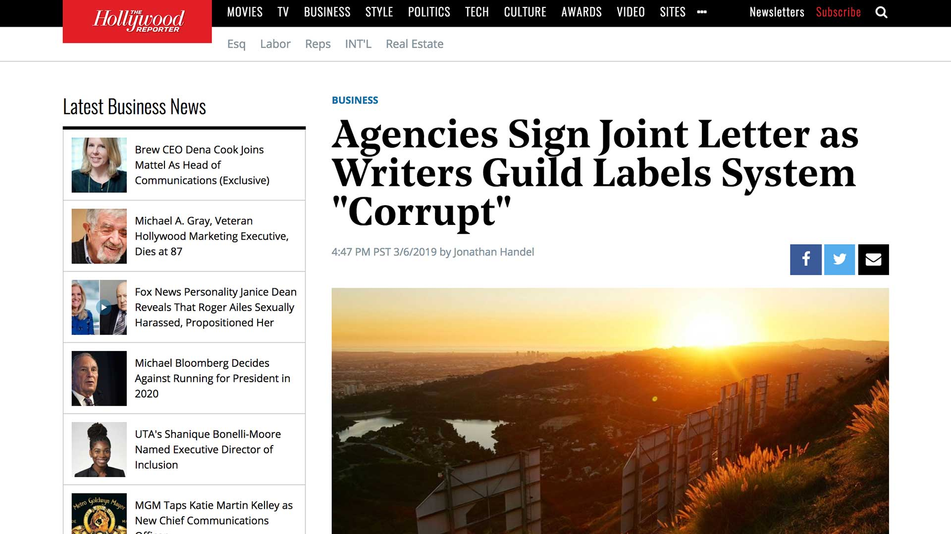"""Fairness Rocks News Agencies Sign Joint Letter as Writers Guild Labels System """"Corrupt"""""""