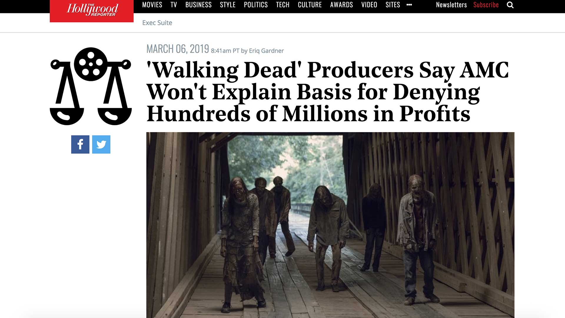 Fairness Rocks News 'Walking Dead' Producers Say AMC Won't Explain Basis for Denying Hundreds of Millions in Profits