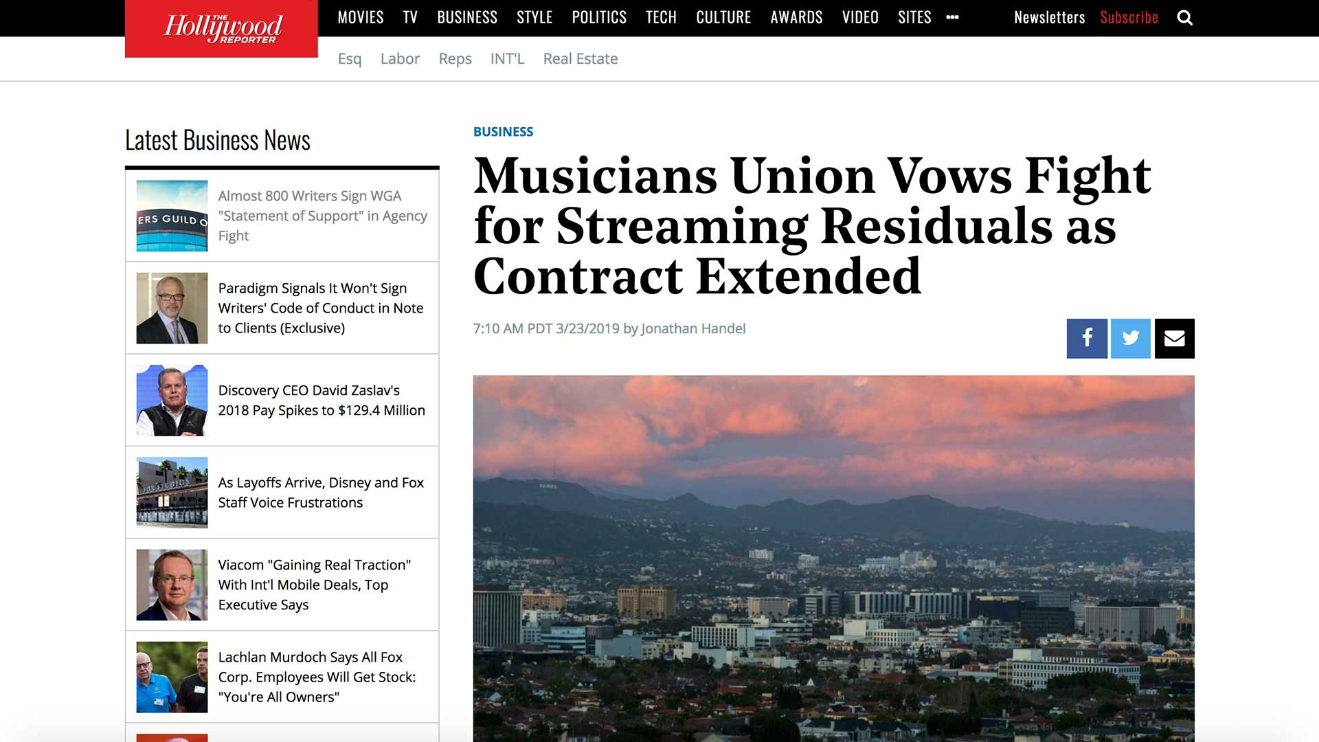 Fairness Rocks News Musicians Union Vows Fight for Streaming Residuals as Contract Extended