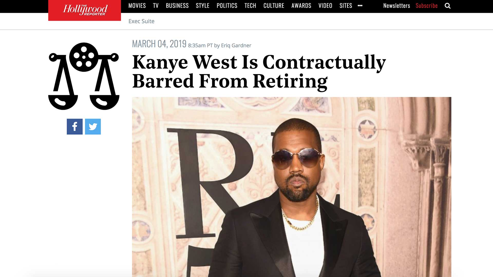 Fairness Rocks News Kanye West Is Contractually Barred From Retiring