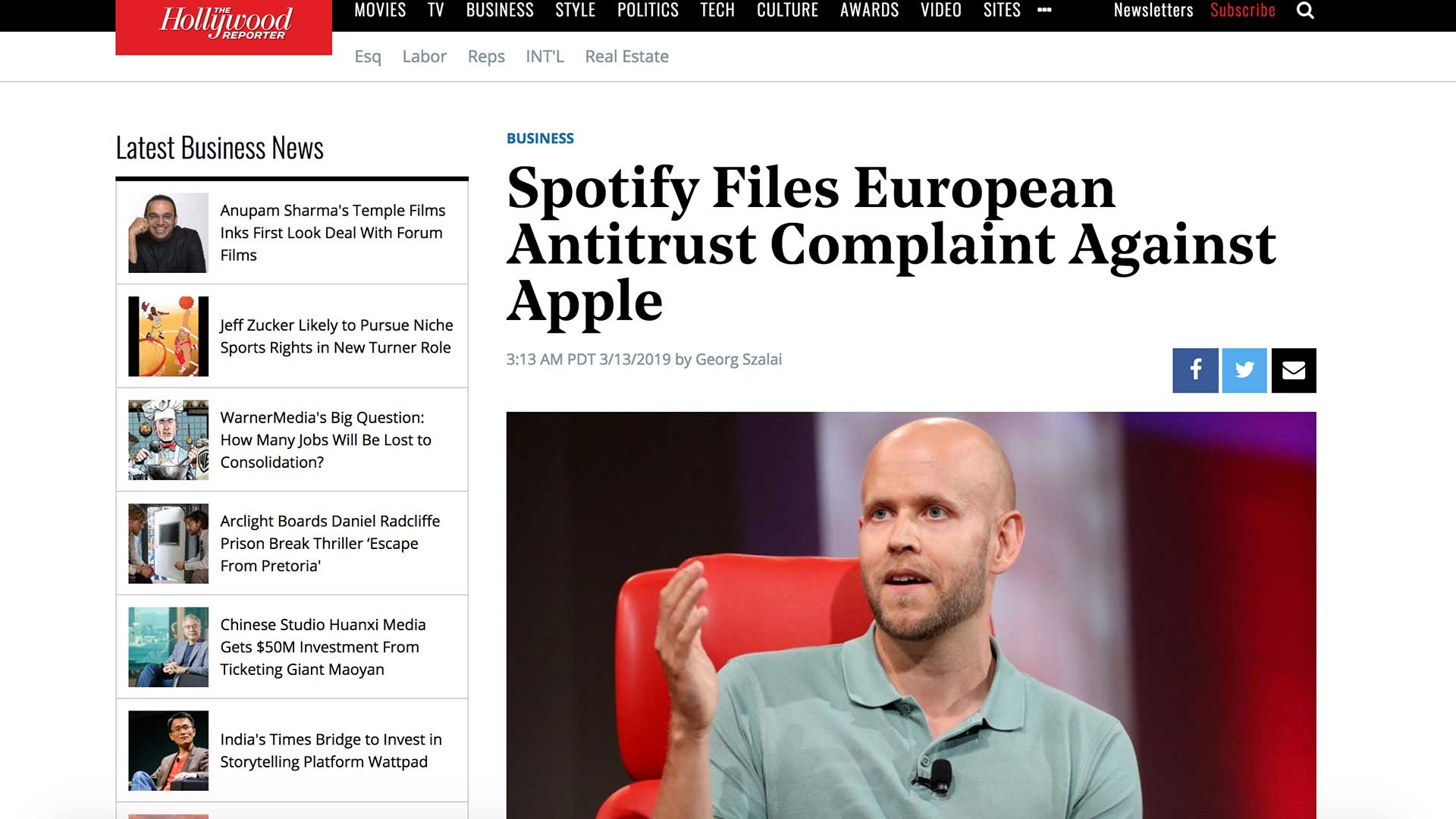 Fairness Rocks News Spotify Files European Antitrust Complaint Against Apple