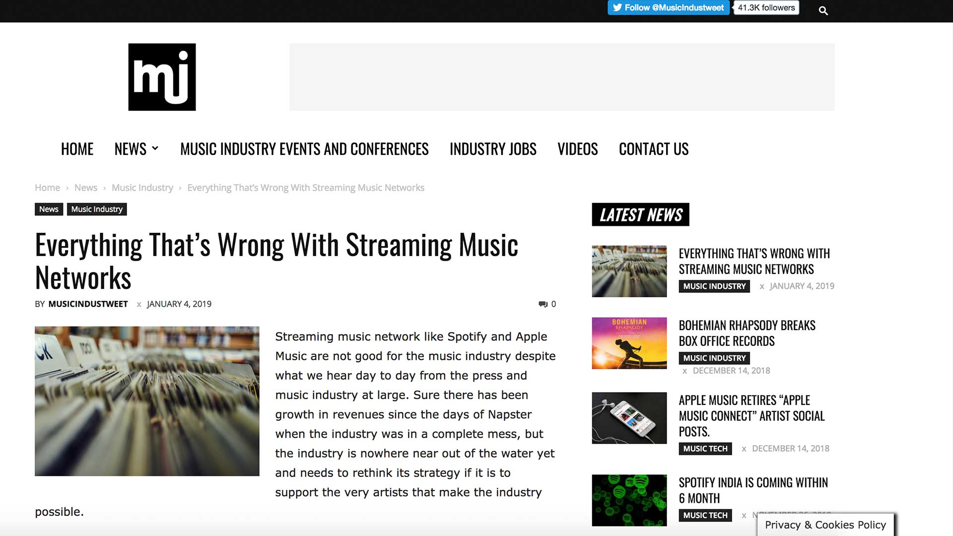 Fairness Rocks News Everything That's Wrong With Streaming Music Networks