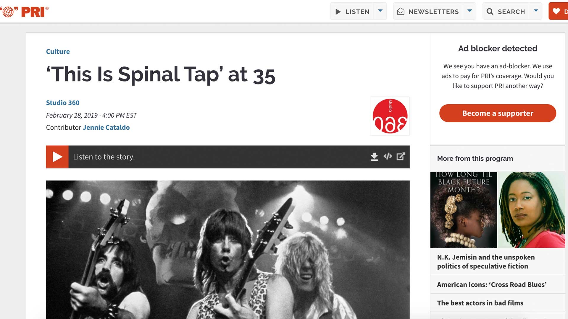 Fairness Rocks News 'This Is Spinal Tap' at 35