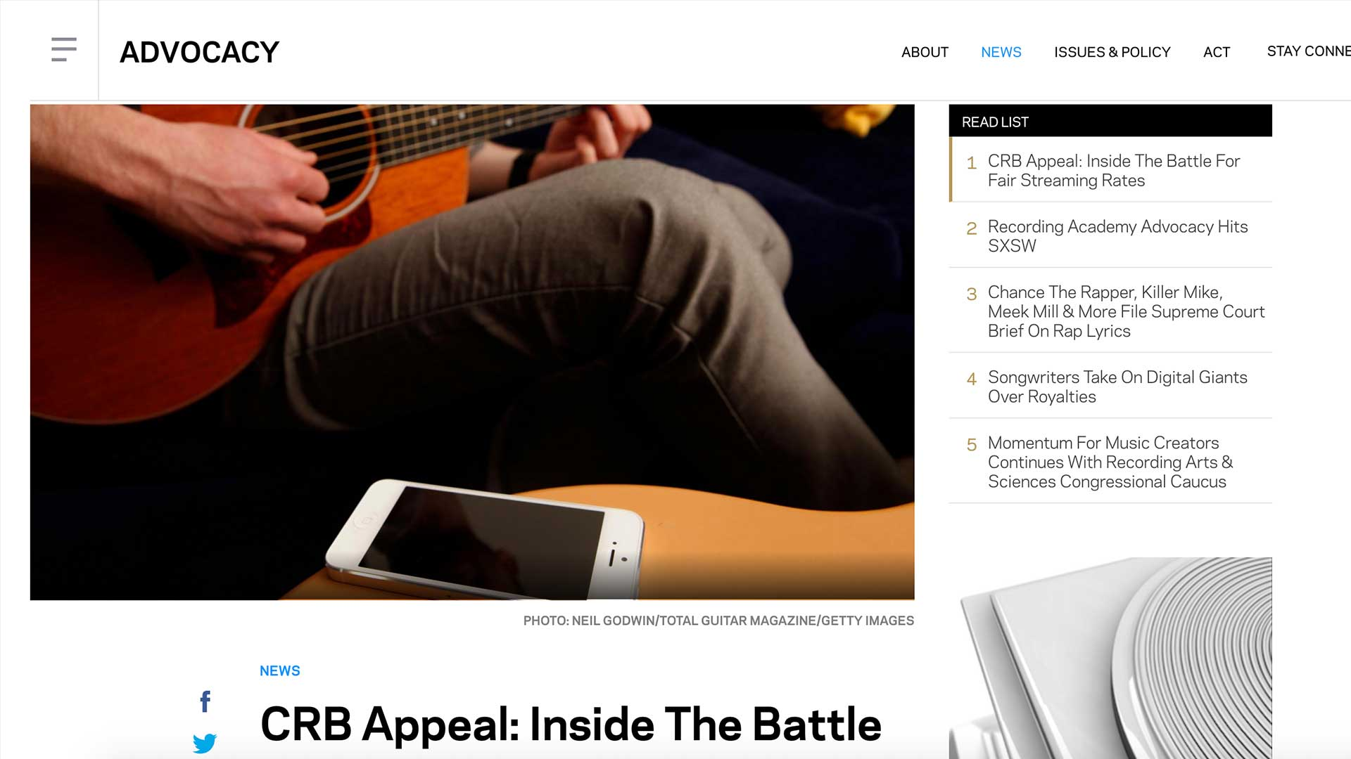 Fairness Rocks News CRB Appeal: Inside The Battle For Fair Streaming Rates