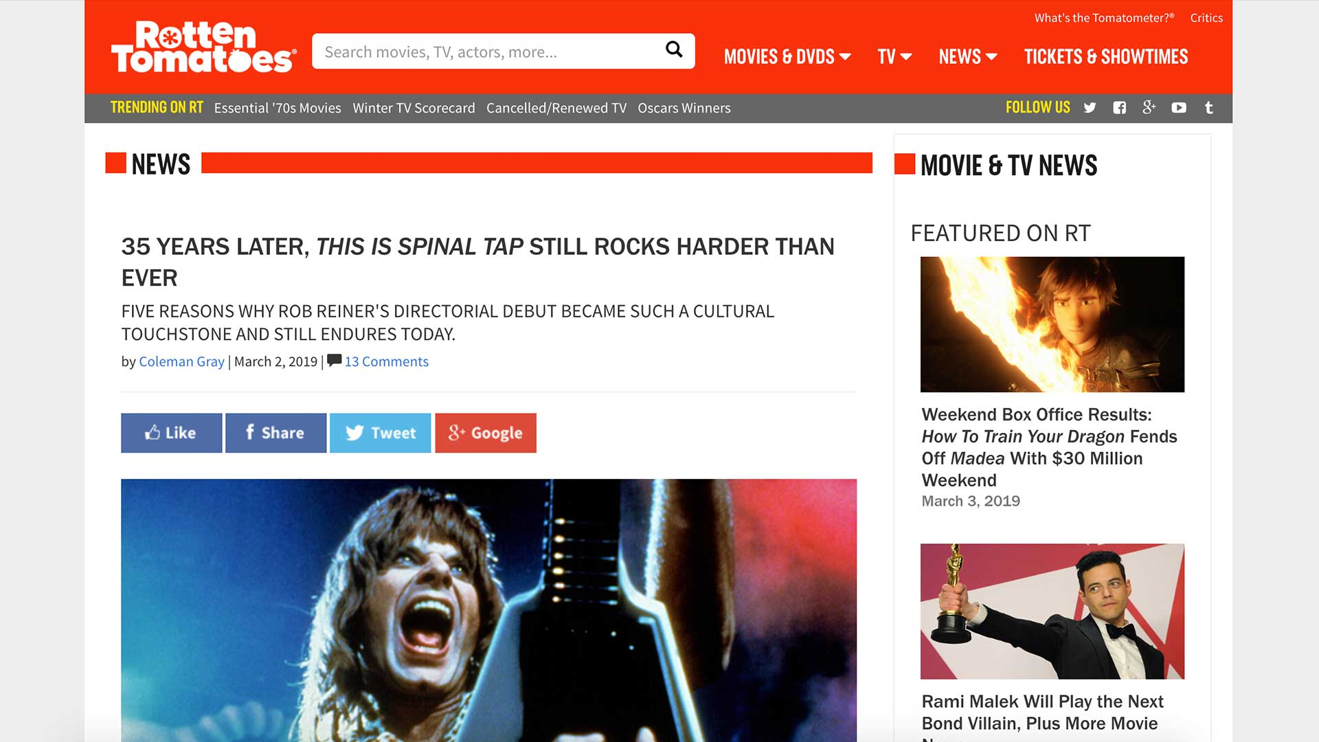 Fairness Rocks News 35 YEARS LATER, THIS IS SPINAL TAP STILL ROCKS HARDER THAN EVER