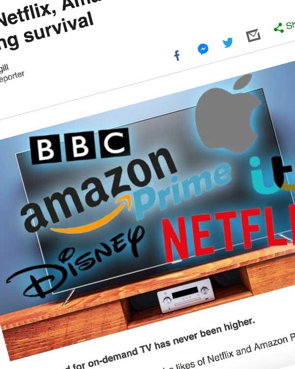 Fairness Rocks News Disney, Netflix, Amazon: The battle for streaming survival