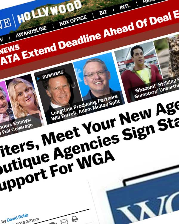 Fairness Rocks News Writers, Meet Your New Agents? A Dozen Boutique Agencies Sign Statement Of Support For WGA