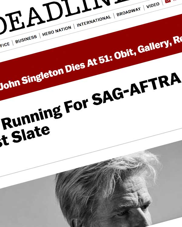Fairness Rocks News Matthew Modine Running For SAG-AFTRA Presidency On Membership First Slate