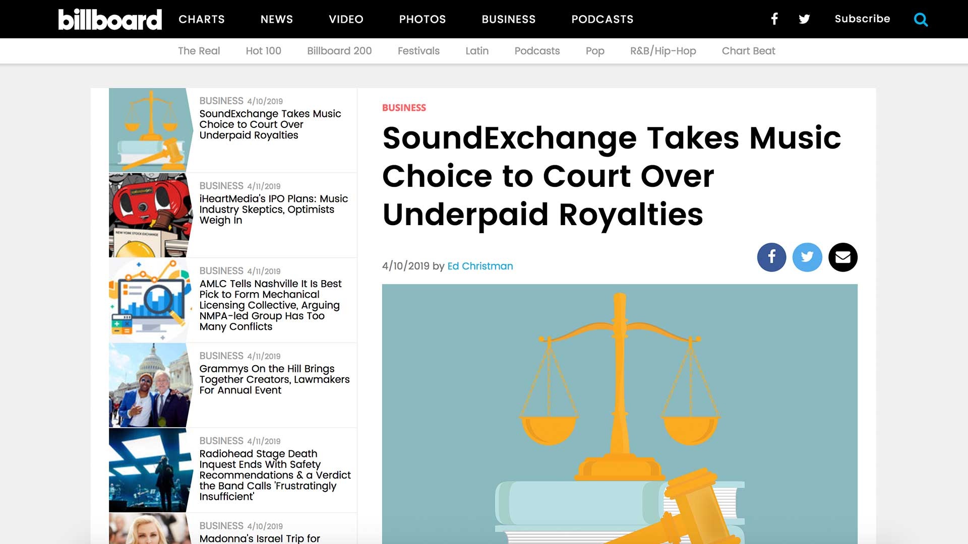 Fairness Rocks News SoundExchange Takes Music Choice to Court Over Underpaid Royalties
