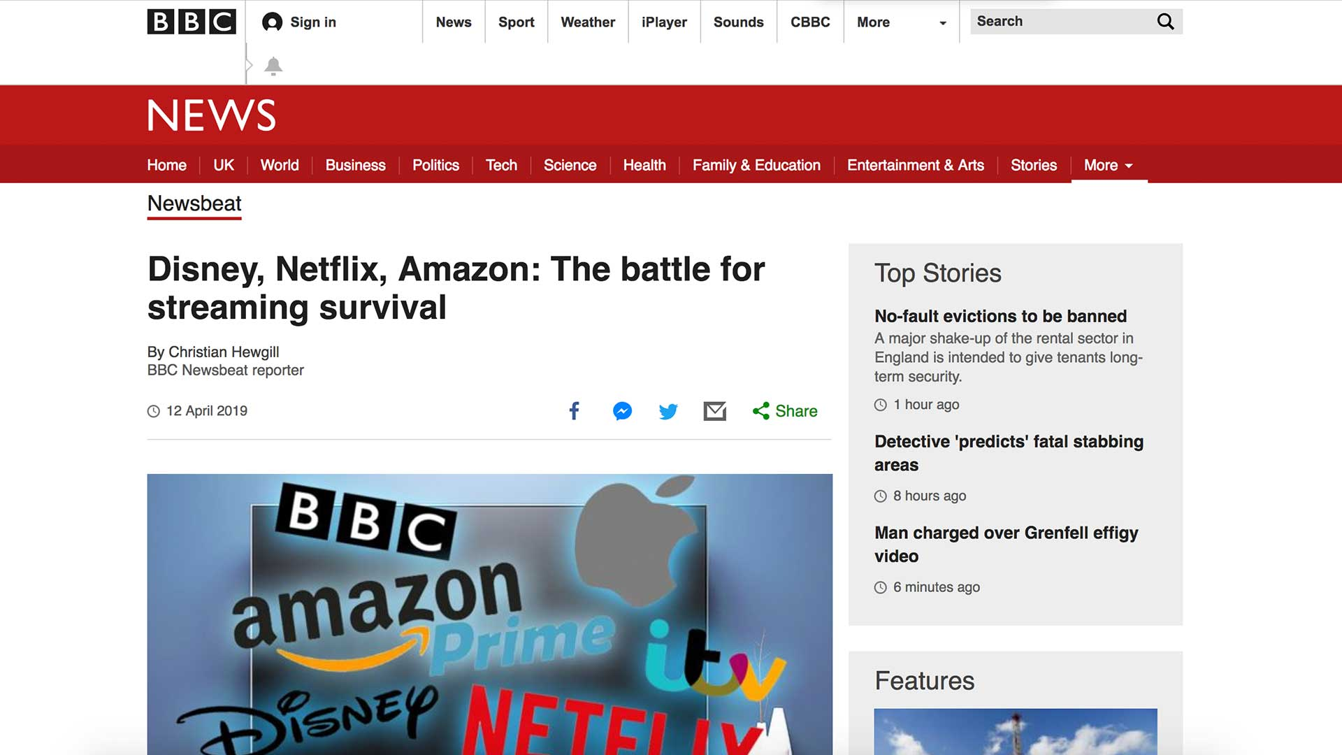 Fairness Rocks News Disney, Netflix, Amazon: The battle for streaming survival