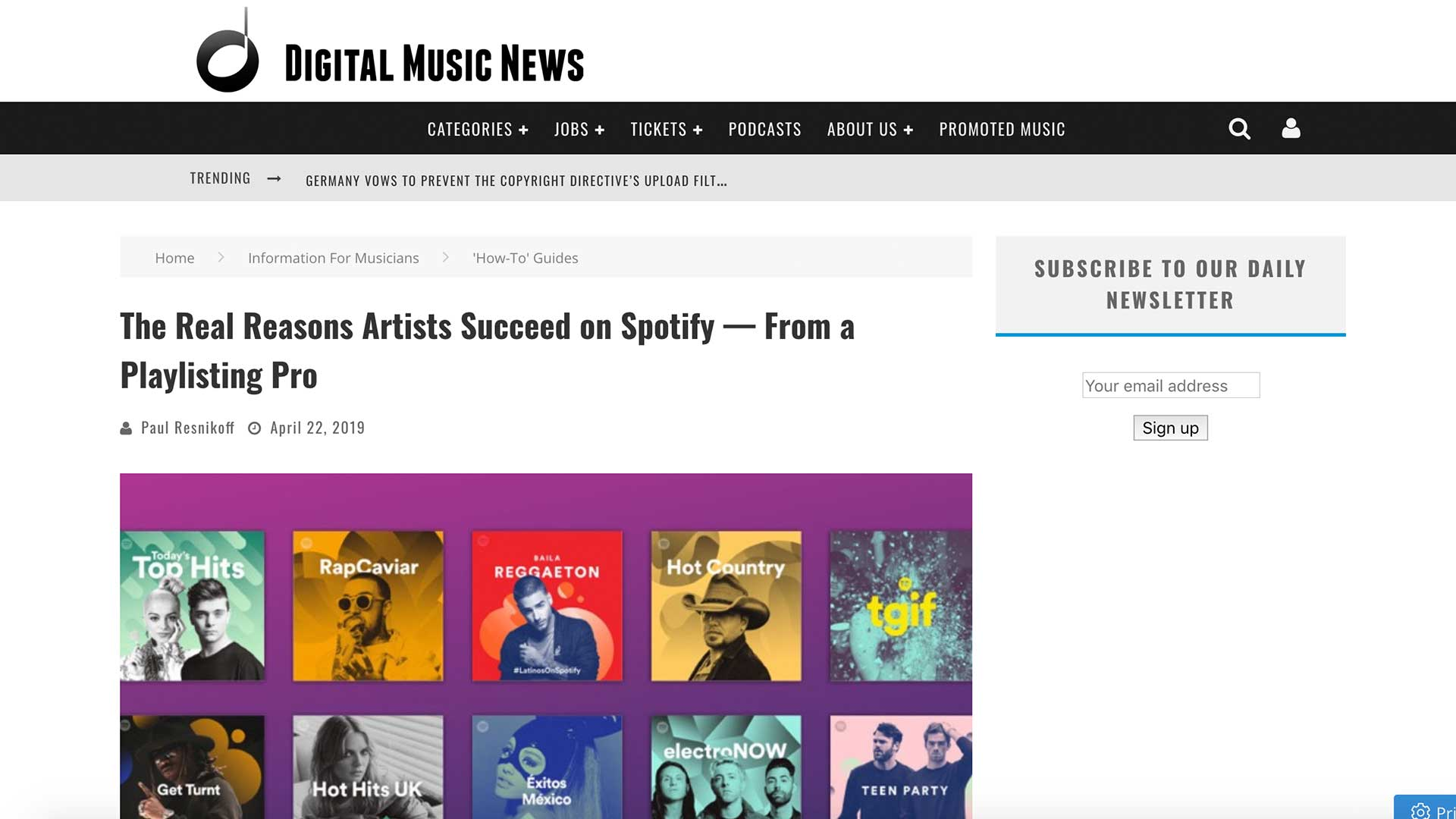 Fairness Rocks News The Real Reasons Artists Succeed on Spotify — From a Playlisting Pro