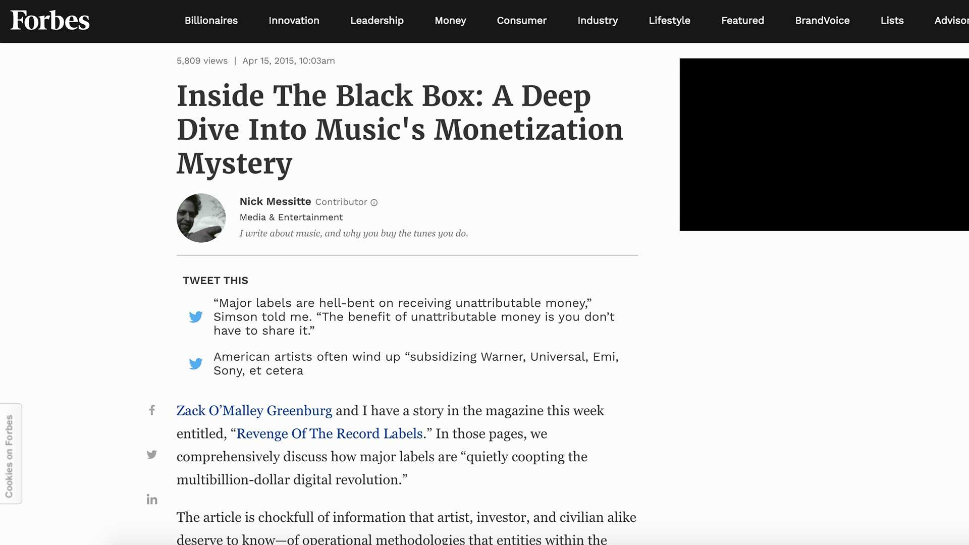 Fairness Rocks News Inside The Black Box: A Deep Dive Into Music's Monetization Mystery