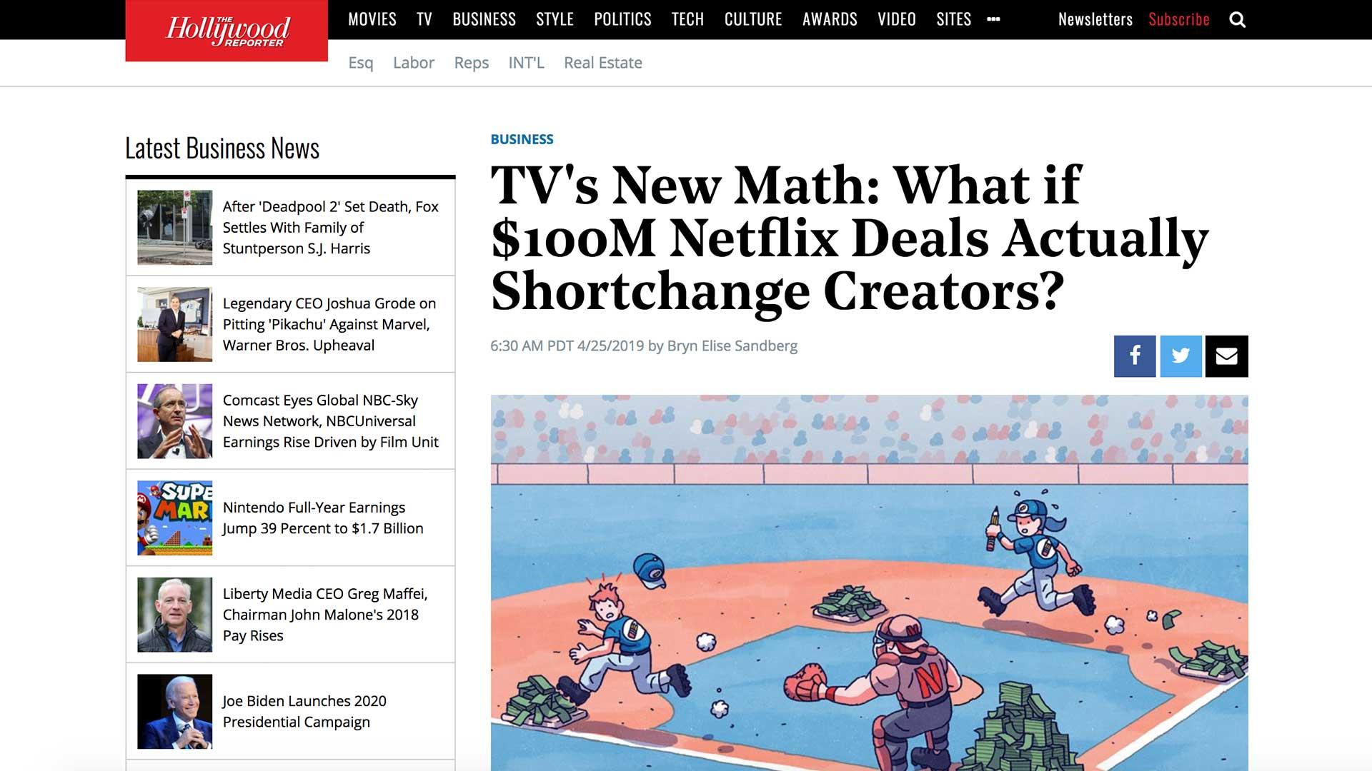 Fairness Rocks News TV's New Math: What if $100M Netflix Deals Actually Shortchange Creators?