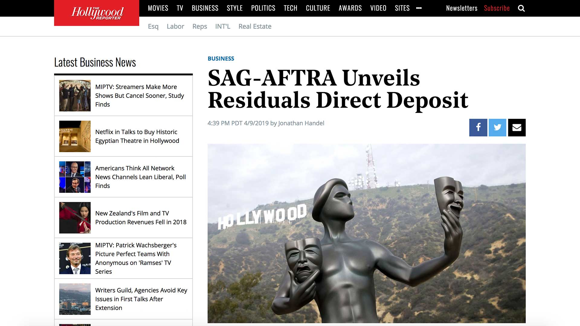 Fairness Rocks News SAG-AFTRA Unveils Residuals Direct Deposit