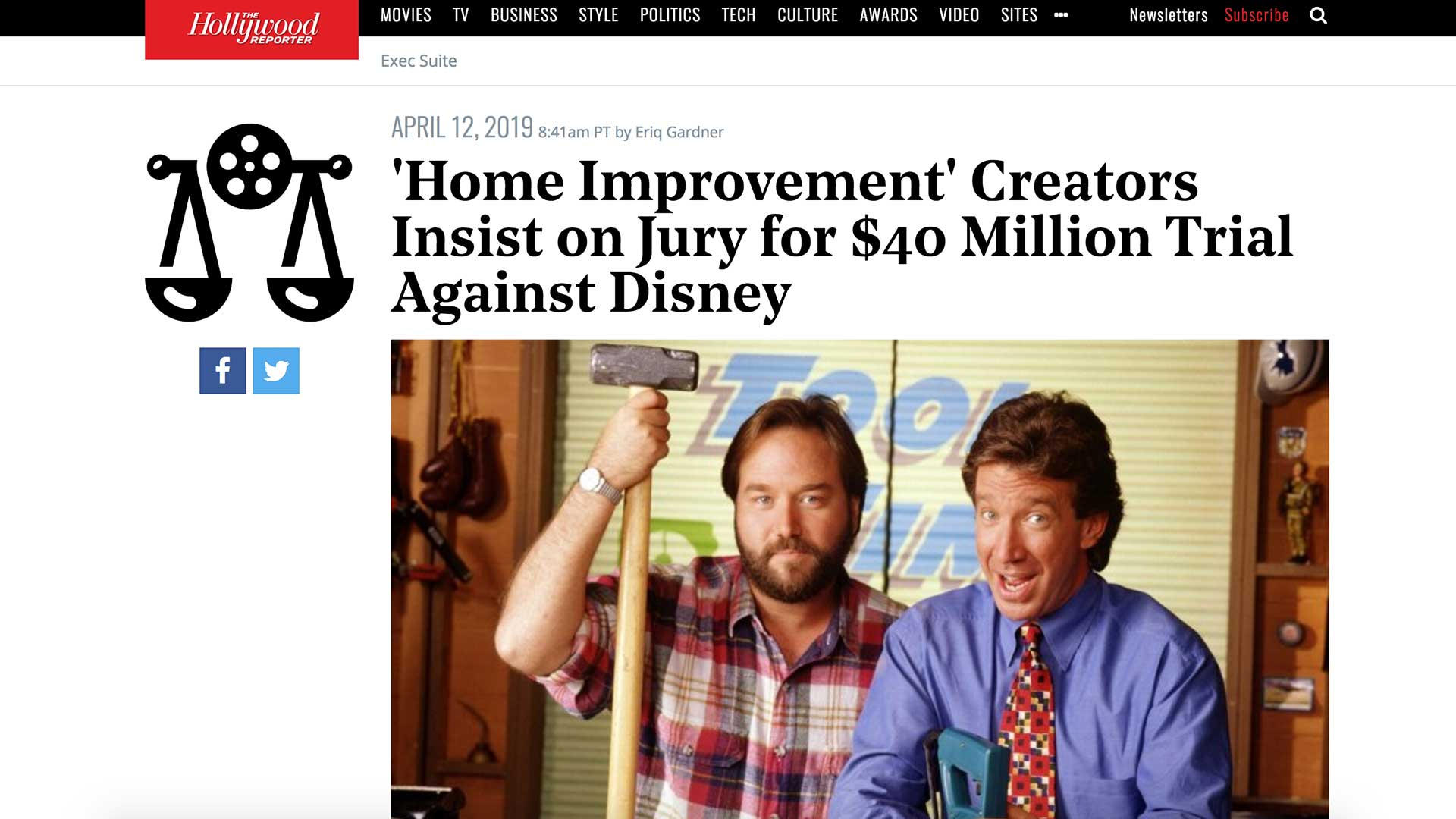 Fairness Rocks News 'Home Improvement' Creators Insist on Jury for $40 Million Trial Against Disney