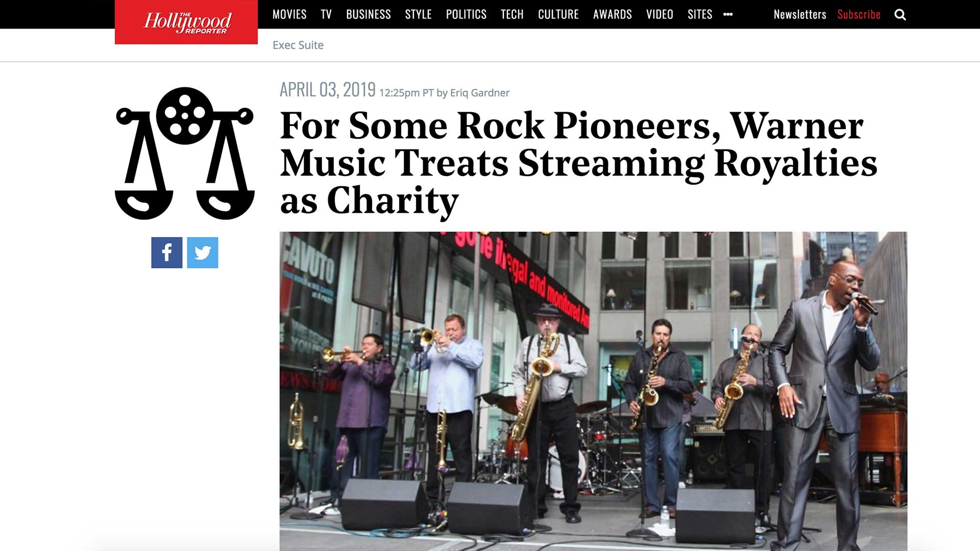 Fairness Rocks News For Some Rock Pioneers, Warner Music Treats Streaming Royalties as Charity