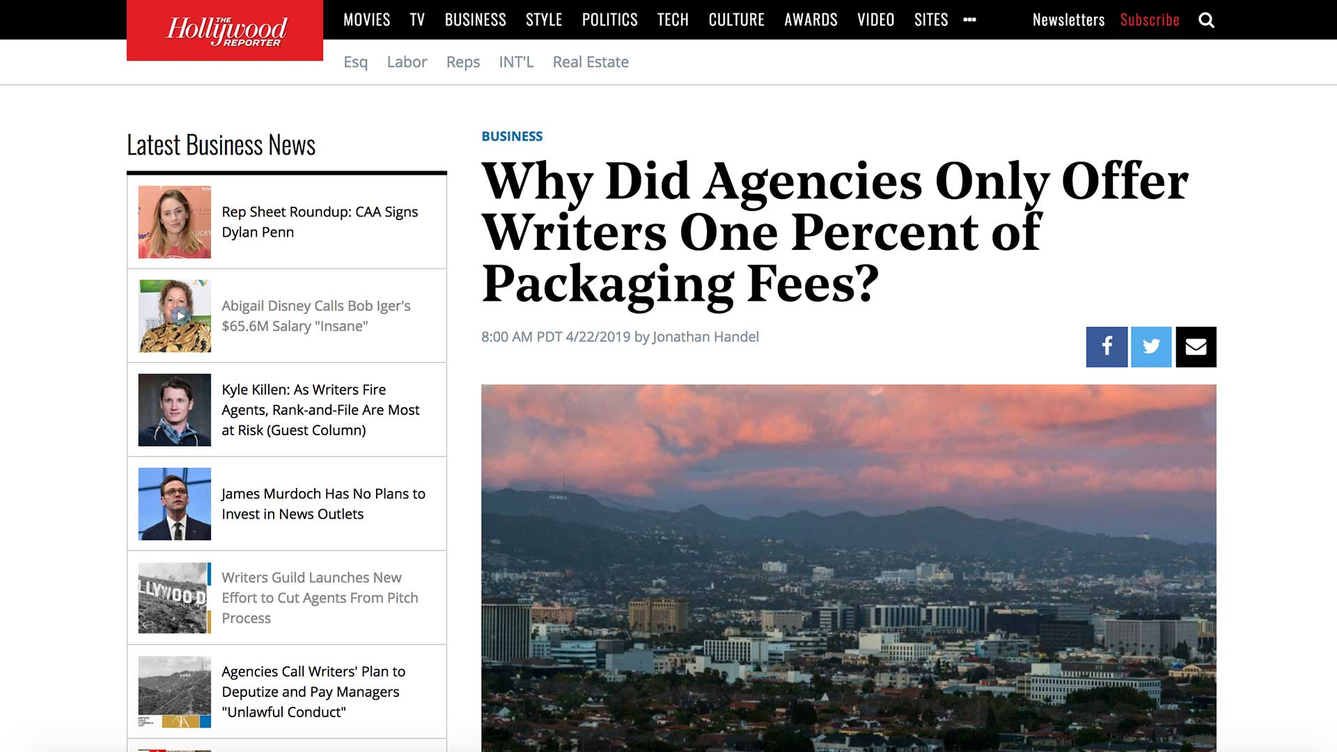 Fairness Rocks News Why Did Agencies Only Offer Writers One Percent of Packaging Fees?
