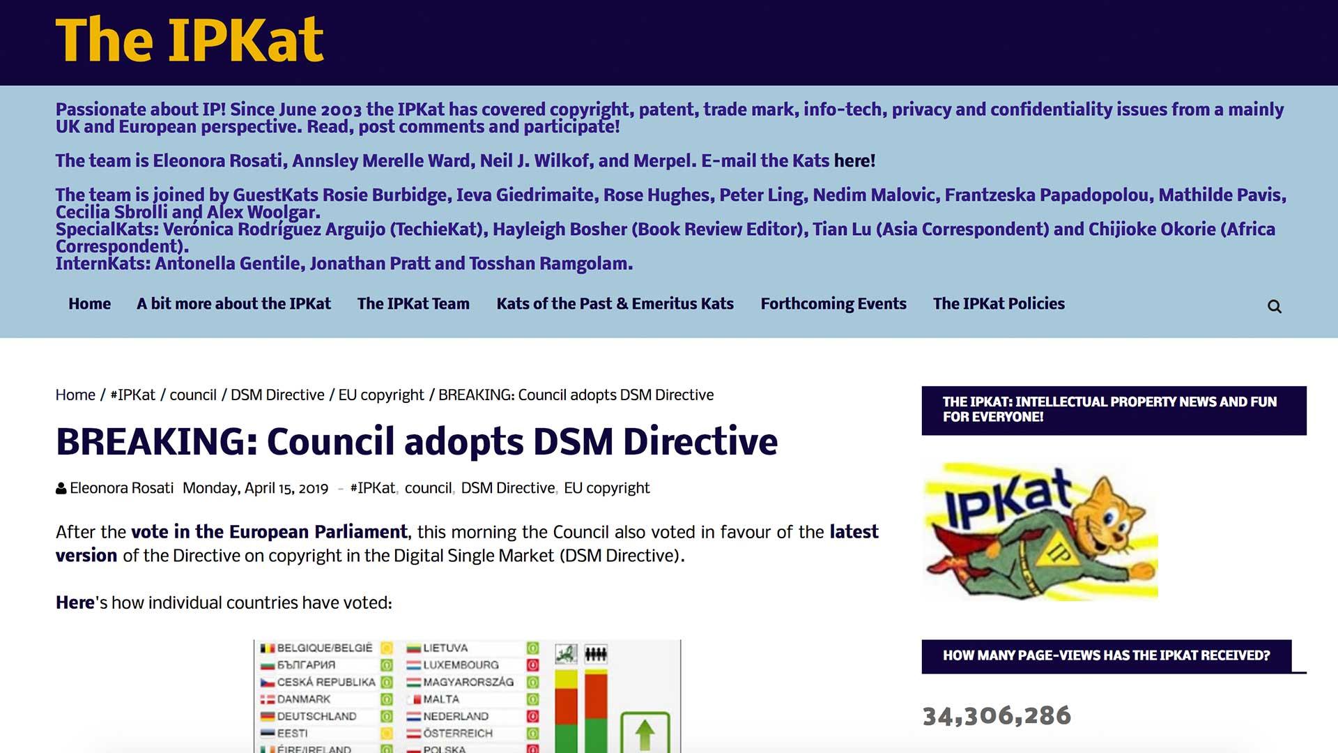 Fairness Rocks News BREAKING: Council adopts DSM Directive