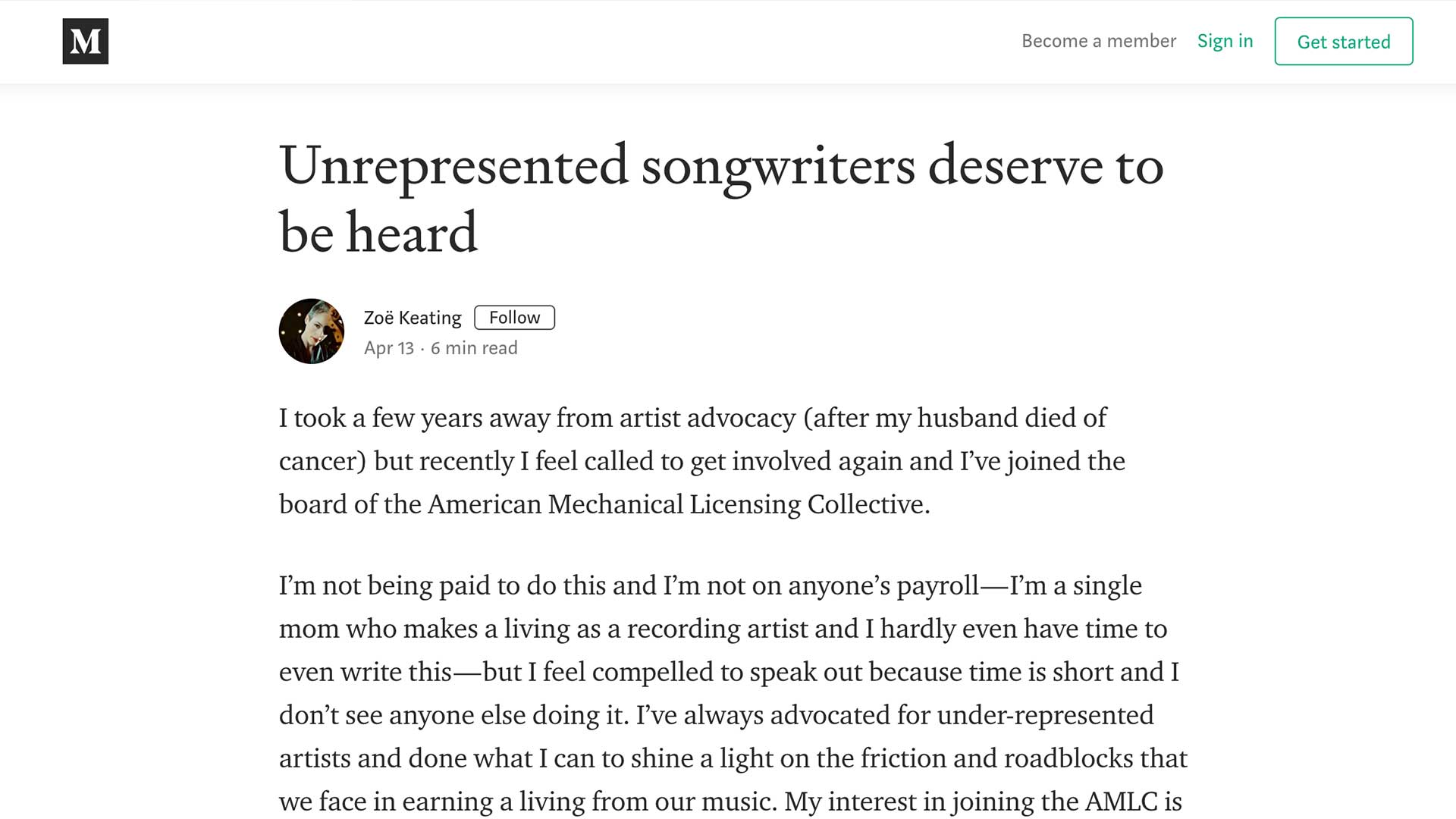Fairness Rocks News Unrepresented songwriters deserve to be heard