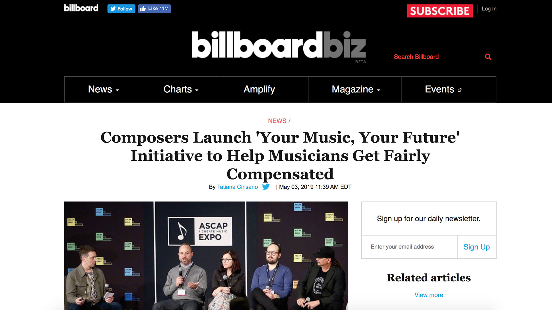Fairness Rocks News Composers Launch 'Your Music, Your Future' Initiative to Help Musicians Get Fairly Compensated